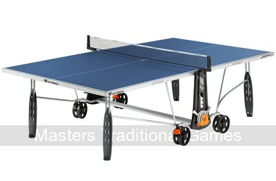 Cornilleau Sport 250S Outdoor Crossover Table Tennis Table Blue
