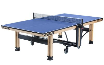 Cornilleau Competition Wood 850 Rollaway 25mm Table Tennis Table  - Blue