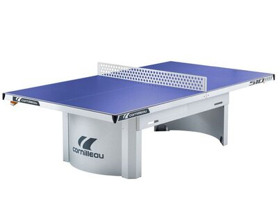 Cornilleau Proline 510M Outdoor Static Table Tennis Table - Blue