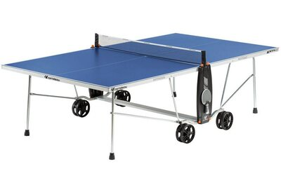 Cornilleau Sport 100S Crossover Outdoor Table Tennis Table - Blue