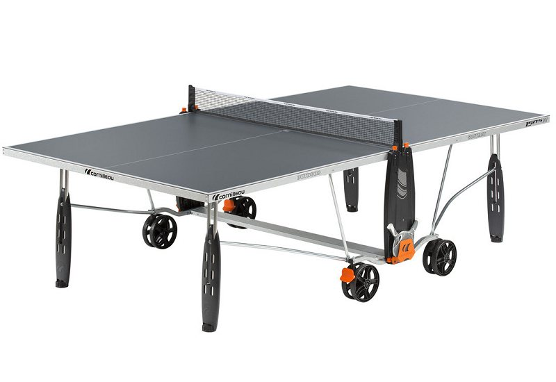 Cornilleau sport 150s outdoor crossover table tennis table for Table carree 150 x 150