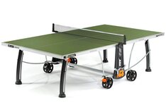 Cornilleau Sport 300S Outdoor Crossover Table Tennis Table - Green