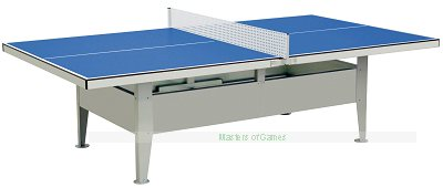Institution Waterproof Outdoor Table Tennis (Blue)