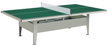 Institution Waterproof Outdoor Table Tennis (Green)