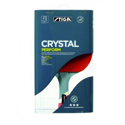 Stiga 3 Star Crystal Perform Table Tennis Bat