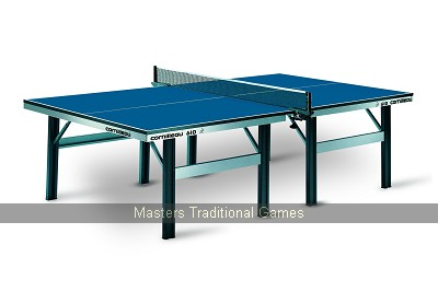 Cornilleau Table Tennis Table Competition 610 Static Blue 22mm