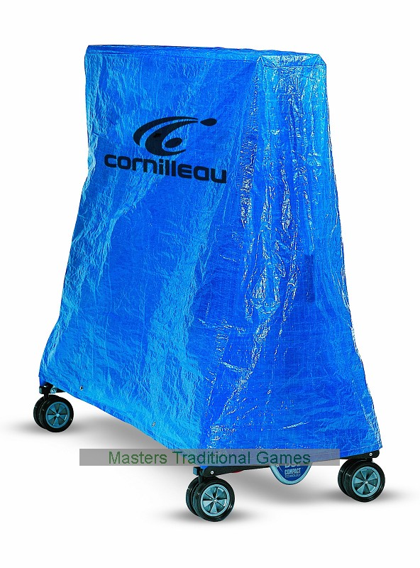 Cornilleau pvc cover outdoor for rollaway table tennis tables blue