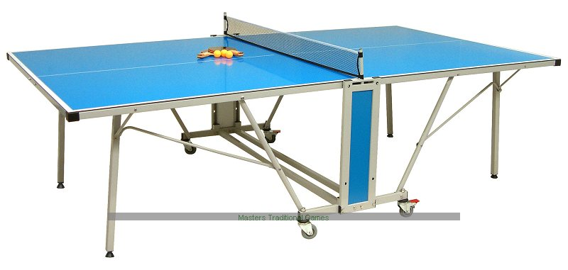 Backyard Table Tennis Rules : Team Extreme Outdoor Table Tennis Table