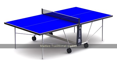 Cornilleau Tectonic Table Tennis Table 50 Outdoor Blue (Starter Set)