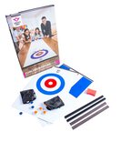 2 in 1 Curling & Shuffleboard Table-Top Game - 180cm