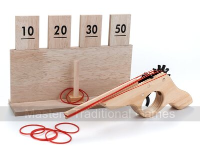 Wooden Shooting Target Game