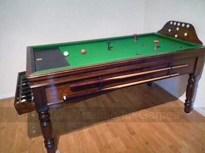 Bar Billiards Table for sale - Harpenden