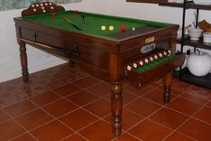 Reconditioned Jelkes Bar Billiards Table for sale