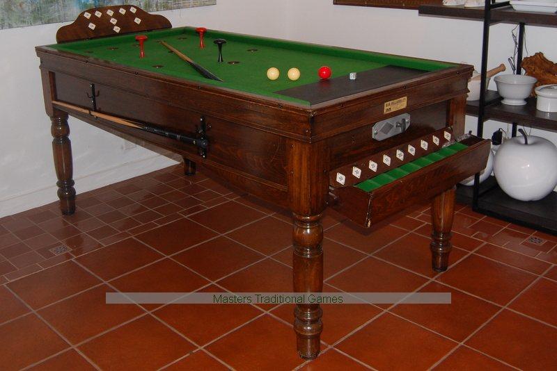 Vintage Jelks Bar Billiards Table For Sale - Bar billiards table for sale usa