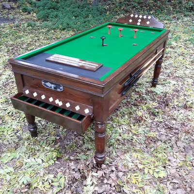Reconditioned Jelks Bar Billiards Table for sale