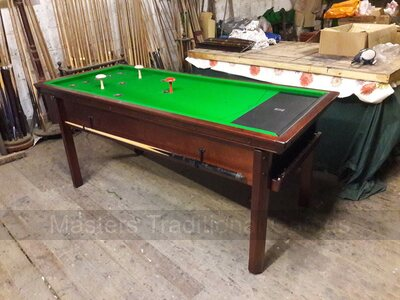 Reconditioned Thurston Bar Billiards Table for sale