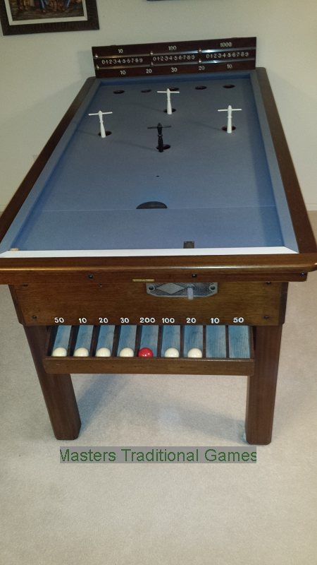 Reconditioned Oak Bar Billiards Table For Sale   Arizona