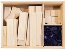 TomTecT 190 Wooden Construction Kit (190 pieces)