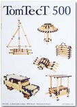 TomTecT 500 Wooden Construction Kit (500 pieces)