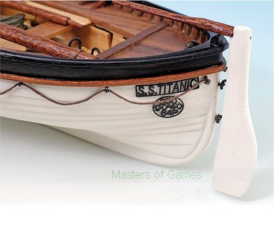 Wooden Model Boat Kit: Titanic's Lifeboat by Artesania Latina